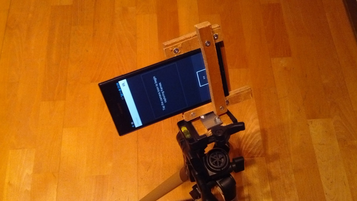 Makeshift Smartphone Holder For Tripod Diy Projects