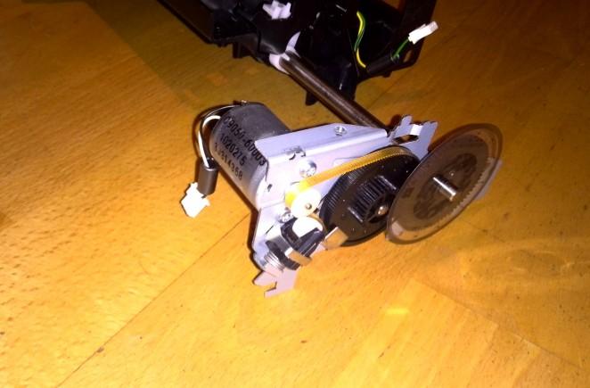Main DC motor