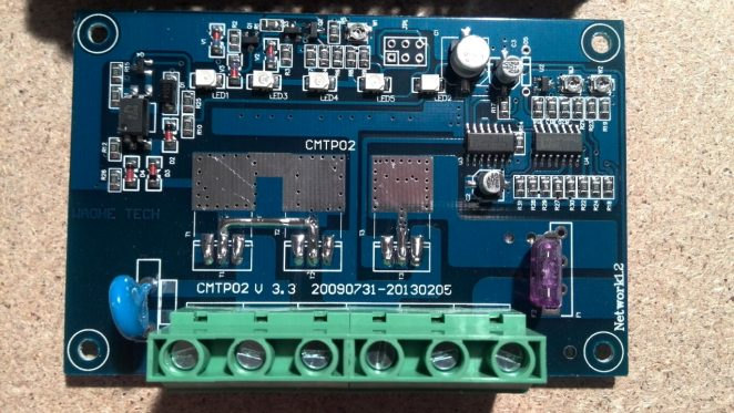 CMTP02 30A Solar charger controller main board, chema, circuit, front