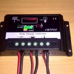 CMTP02 30A Solar charger controller top view
