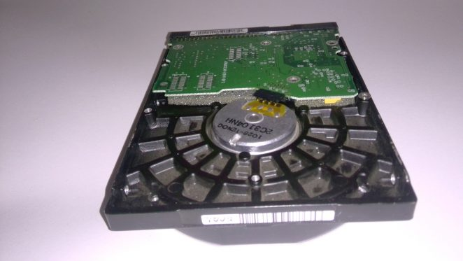 WD200EB HDD bottom view