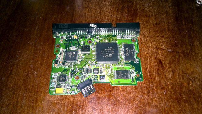 WD200EB hard drive mainboard