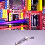 Arduino CNC controller shield with blown fuse
