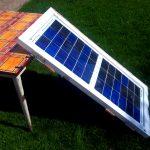 DIY solar panel testing 65w