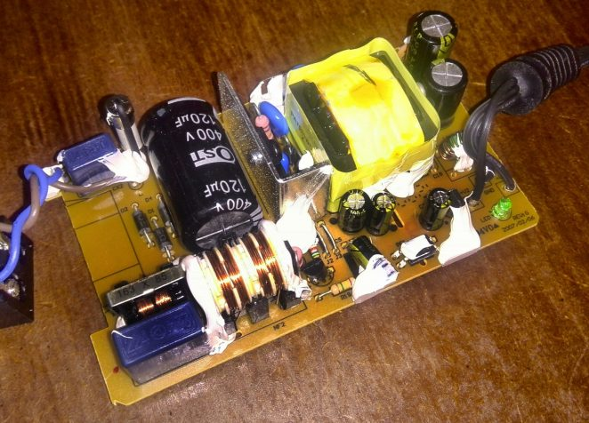 Power supply inside