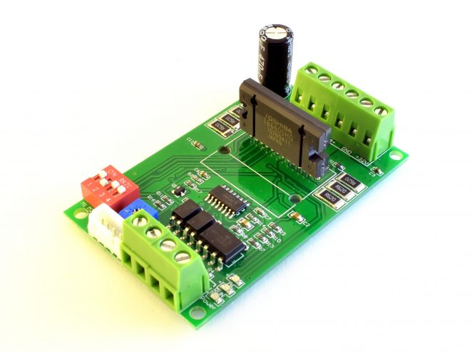 TB6600 v1.2 green pcb, overview