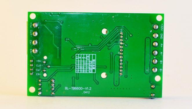 TB6600 v1.2 backside