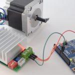 NEMA23 stepper motor 23HS22-2804S (2.8A) + TB6600 (4.5A) @ 12V