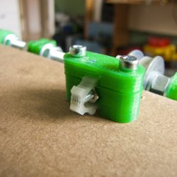 Prusa Y-axis belt tensioner by Christian Riise Wagner
